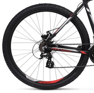 """Rower Kross Hexagon 3.0 M 27,5"""" czarno-czerwono-srebrny"""