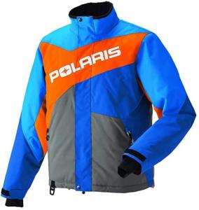Kurtka na quada Polaris Drifter Jacket Blue/Org rozmiar L