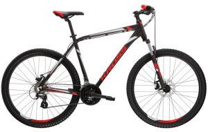 """Rower Kross Hexagon 3.0 M 27,5"""" czarny czerwony srebrny"""