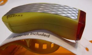 Lampa rowerowa Serfas Night-Saver Light TLP-5YL żółta tył