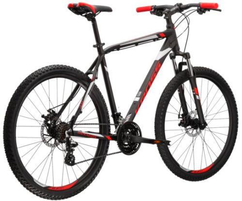 """Rower Kross Hexagon 3.0 L 27,5"""" czarny czerwony srebrny"""