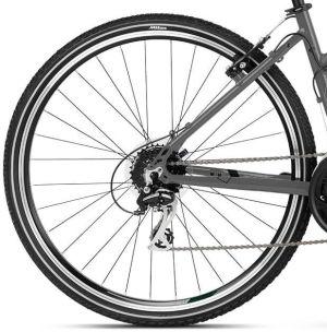 """Rower Kross Evado 2.0 L 28"""" damski grafitowo-czarny"""