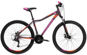"""Rower Kross Lea 3.0 SR XXS 26"""" fioletowy różowy pomarańczowy"""
