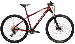 """Rower Kross Level 6.0 L 29"""" rubinowy srebrny"""