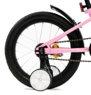 """Rower dziecięcy Kross Mini 3.0 16"""" różowo-fioletowo-turkusowy"""