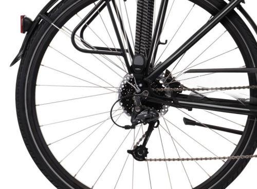 """Rower Kross Trans 5.0 M 28"""" męski czarno-szary"""