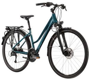 "Rower Kross Trans 8.0 M 28"" damski turkusowy czarny"