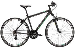 """Rower Kross Evado 2.0 S 28"""" męski czarny zielony"""