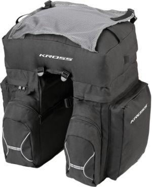Sakwy rowerowe tylne Kross Roamer Triple Rear Bag