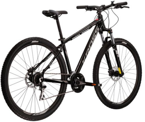 """Rower Kross Hexagon 6.0 L 29"""" czarny szary grafitowy"""
