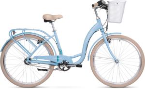 "Rower Le Grand Lille 3 M 26"" damski błękitny seledynowy"