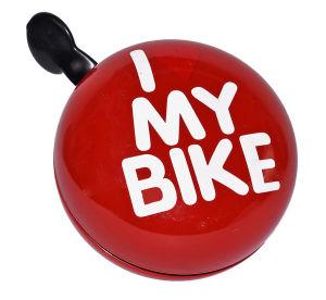 Dzwonek rowerowy Le Grand XXL Gong Czerwony