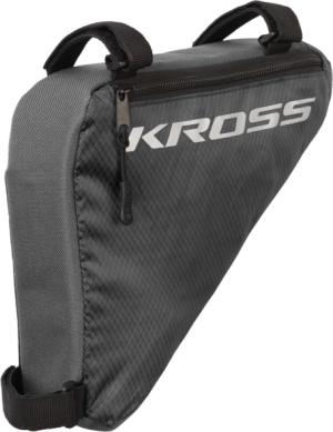 Torebka rowerowa trójkątna Kross Triangle Bag szara