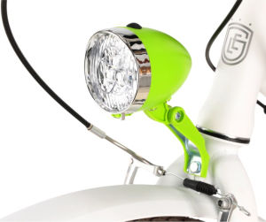 Lampa rowerowa przednia Le Grand Sunlight II zielona