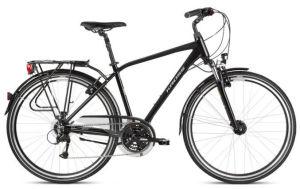 "Rower Kross Trans 4.0 L 28"" męski czarny szary"