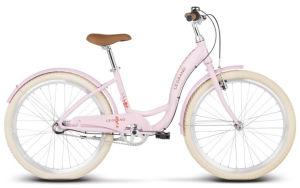 """Rower młodzieżowy Le Grand Lille JR 24"""" różowy"""