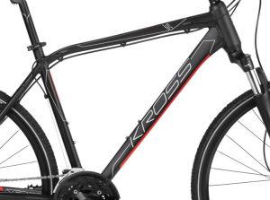 """Rower Kross Evado 5.0 L 28"""" męski czarny czerwony"""