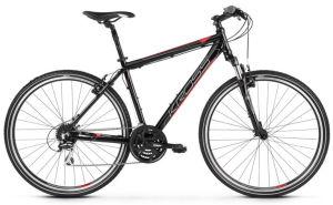 """Rower Kross Evado 3.0 L 28"""" męski czarny czerwony"""