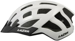 Kask rowerowy Lazer Compact (54-61cm) biały