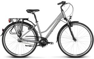 """Rower Kross Trans 6.0 L 28"""" damski grafitowo-srebrny"""