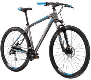 """Rower Kross Hexagon 5.0 L 29"""" grafitowy srebrny niebieski"""
