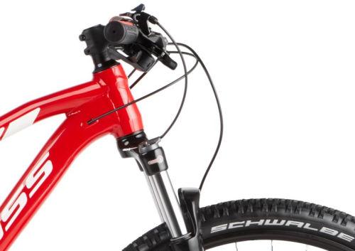 """Rower Kross Level 3.0 M 29"""" czerwony biały"""