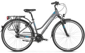 """Rower Kross Trans 6.0 M 28"""" damski grafitowo-niebiesko-srebrny"""