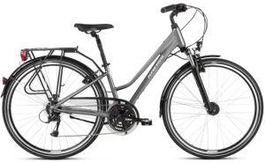 """Rower Kross Trans 4.0 M 28"""" damski grafitowy biały"""