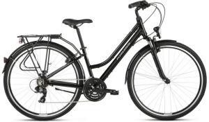 """Rower Kross Trans 1.0 M 28"""" damski czarny szary"""