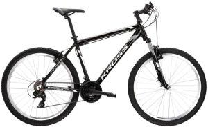 """Rower Kross Hexagon M 26"""" czarny biały grafitowy"""