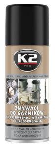Zmywacz do ERG, gaźników, przepustnic, wtryskiwaczy, turbosprężarek K2 400 ml