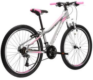 """Rower Kross Lea 2.0 SR S 27,5"""" srebrny biały różowy"""