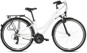 "Rower Kross Trans 1.0 L 28"" damski biały szary"