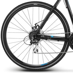 """Rower Kross Evado 4.0 M 28"""" męski czarno-niebieski"""
