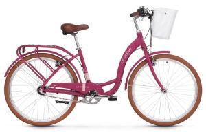 """Rower Le Grand Lille 3 M 26"""" damski różowy beżowy"""