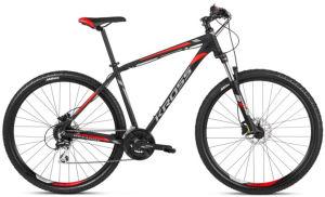 """Rower Kross Hexagon 6.0 S 29"""" czarny grafitowy czerwony"""