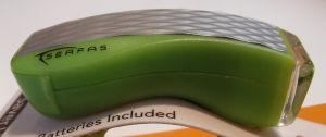 Lampa rowerowa Serfas Night-Saver Light SLP-5GN zielona przód