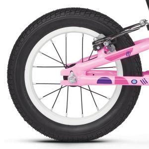 """Rower dziecięcy biegowy Kross Kido 12"""" różowy + wiatraczek na kierownicę GRATIS"""