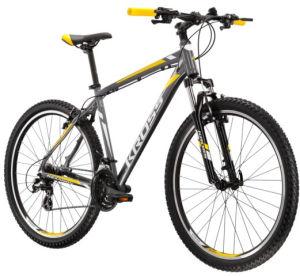 """Rower Kross Hexagon 2.0 S 26"""" grafitowy srebrny żółty"""