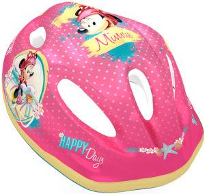 Kask rowerowy dziecięcy Disney Minnie rozmiar M (52-56cm)