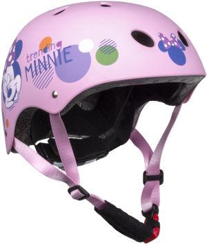 Kask sportowy Disney Minnie rozmiar M (54-58cm) różowy