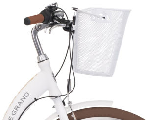 "Rower Le Grand Lille 3 M 26"" damski biały beżowy"