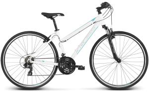 """Rower Kross Evado 1.0 M 28"""" damski biało-turkusowy"""