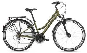 """Rower Kross Trans 3.0 L 28"""" damski khaki-czarny"""