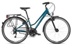 """Rower Kross Trans 4.0 M 28"""" damski turkusowy biały"""