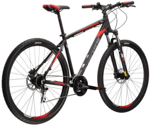 """Rower Kross Hexagon 6.0 L 29"""" czarny grafitowy czerwony"""