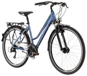 """Rower Kross Trans 4.0 L 28"""" damski niebieski biały"""