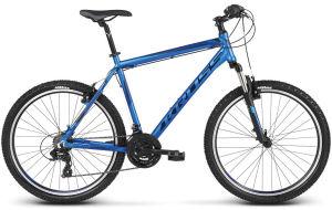 """Rower Kross Hexagon 1.0 S 26"""" niebiesko-czarno-granatowy"""