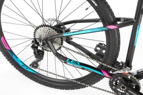 """Rower Kross Lea 8.0 M 27,5"""" czarno-różowo-niebieski"""