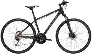"""Rower Kross Evado 6.0 SR XL 28"""" męski czarny niebieski"""